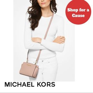 Shop for a Cause Michael Kors Selma Mini Crossbody